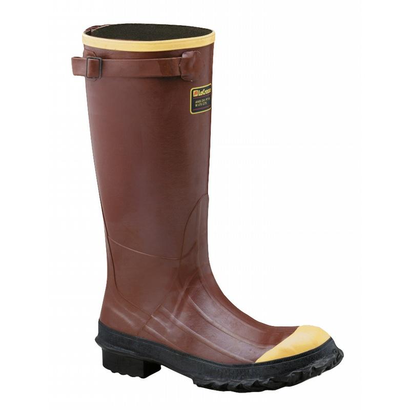 7d723af8402 LaCrosse 00223050 16-inch Waterproof Steel Toe Pac Boots