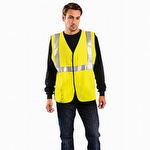 OccuNomix HRC2 NFPA 2112 Flame Resistant Hi-Viz Solid Vest