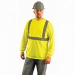 OccuNomix Premium Long Sleeve Wicking Hi-Viz T-Shirt