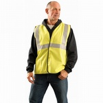 OccuNomix Classic Flame Resistant Single Stripe Solid Vest
