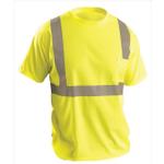 OccuNomix Lightweight Economy Hi-Viz T-Shirt Yellow