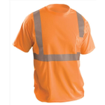 OccuNomix Lightweight Economy Hi-Viz T-Shirt Orange