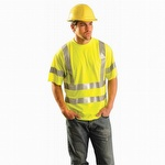 OccuNomix Lightweight Economy Hi-Viz T-Shirt Yellow