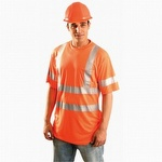 OccuNomix Lightweight Economy Hi-Viz T-Shirt Orange