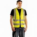OccuNomix 12 Pocket Hi-Viz Vest Yellow