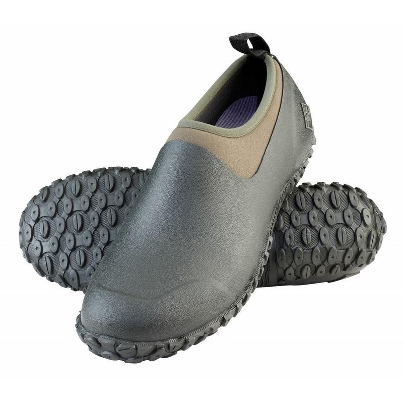 muck boots s muckster ii waterproof shoe moss green
