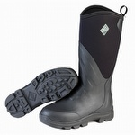 Muck Boots Grit Hard Core Work Boot Black