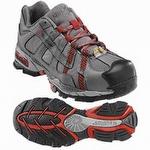 Nautilus Women's ESD Alloy Lite Safety Toe Athletic Shoe Dark Gray