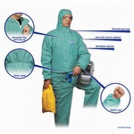 North Gen FR Series Disposable Coverall