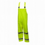 Tingley Eclipse Hi Viz Fire Resistant Overalls Yellow-Green