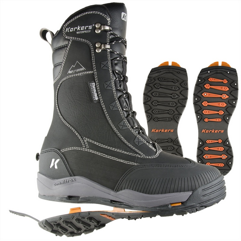 Tundrajack Insulated Boot W Interchangeable Ice Traction