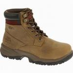 CAT P90443 Women's Dryverse 6 in Waterproof Steel Toe Boot Dark Beige