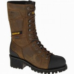 CAT P90733 Casebolt Waterproof Insulated Steel Toe Boot Brown