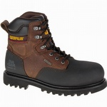 CAT P90737 Creston 6 in Waterproof Insulated Composite Toe Boot Oak