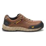 CAT P90838 Men's Streamline Leather Composite Toe Shoe Dark Beige