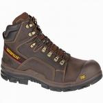CAT P90849 Struts Waterproof Composite Toe 6-inch Boot Dark Brown