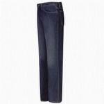 Bulwark Men's Straight Fit Sanded Denim Jean-Excel FR