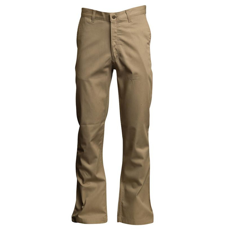 9225bd9cd623 Lapco FR 7oz 100% Cotton Twill FR Uniform Pants Khaki - PINK