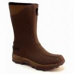 Ranger Pike Fleece-Lined Waterproof Zipper Boots Brown