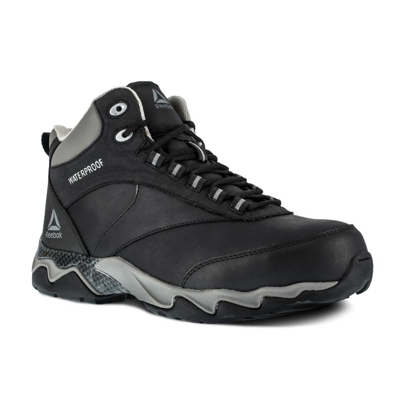 15ff7766fc74 Reebok RB1068 Men s Beamer Waterproof Composite Toe Hiker Black - RB1068
