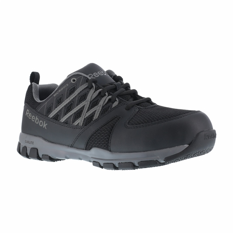 f68c4a85ec20 Reebok RB4016 Men s Sublite SD Steel Toe Athletic Oxford - RB4016