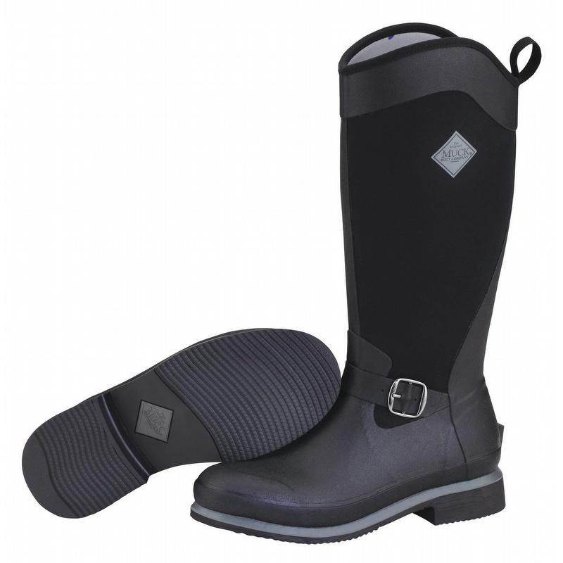 Muck Boots Women's Reign Tall Black - RGNT000
