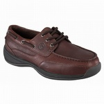 Rockport Works Men's Sailing Club Steel Toe Boat Shoes