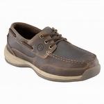 Rockport Works Women's Steel Toe Boat Shoes