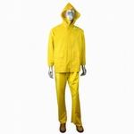 Radians ERW 35 Economy 3-Piece PVCPOLY Rainsuit - Yellow