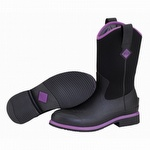 Muck Boots Women's Ryder All Purpose Boot Black / Purple
