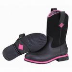 Muck Boots Women's Ryder All Purpose Boot Black / Pink