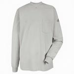 Bulwark FR Tagless White Henley Shirt