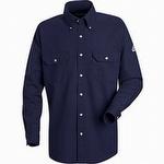 Bulwark CoolTouch 2 Navy Dress Uniform Shirt