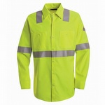 Bulwark CoolTouch 2 Hi Viz Flame Resistant Work Shirt