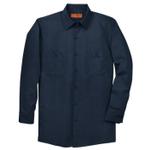 Rep Kap Men's Long Sleeve Industrial Work Shirt Navy