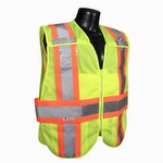 Radians SV242 Class 2 Breakaway Expandable Two Tone Safety Vest