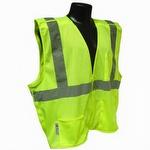 Radians SV4 Economy Class 2 Breakaway Hi Vis Green Mesh Safety Vest