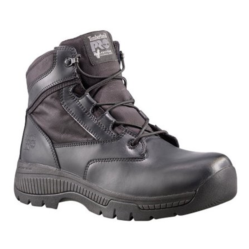 df35c72e9eb Timberland Pro 1162A Valor 6 in Side-Zip Soft Toe Duty Boot