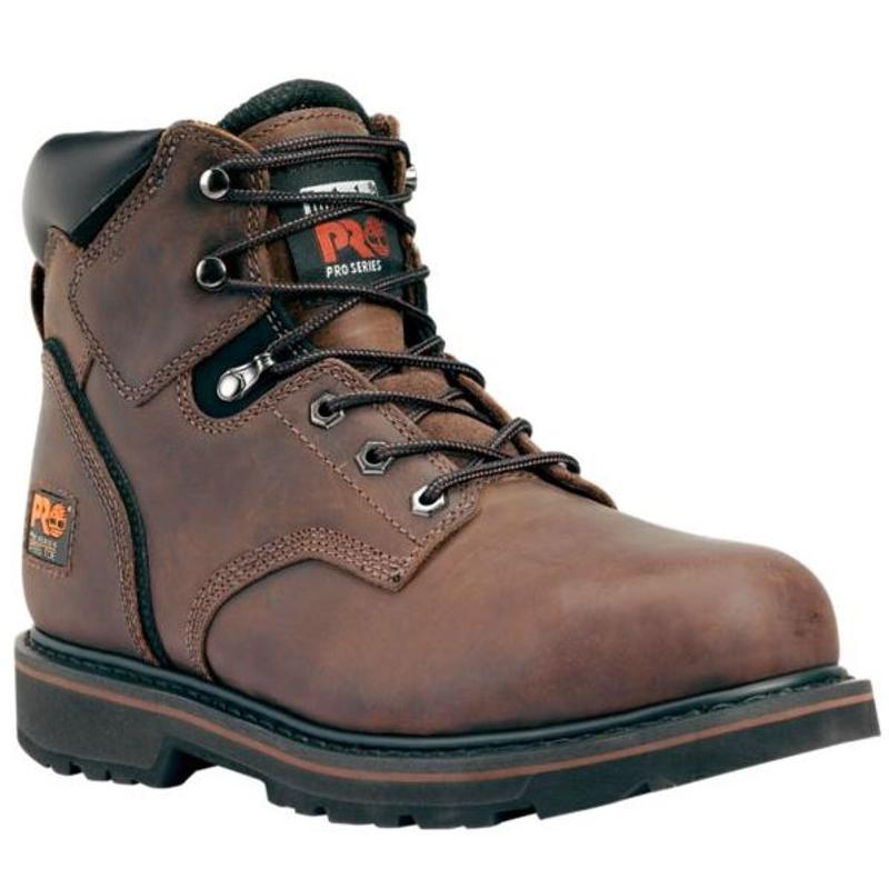 faa919fb07c Timberland Pro 33034 Pit Boss 6-inch Full-Grain Steel Toe Leather Boot