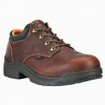 Timberland Pro 47028 TiTAN Oxford Dark Brown Alloy Toe Shoe
