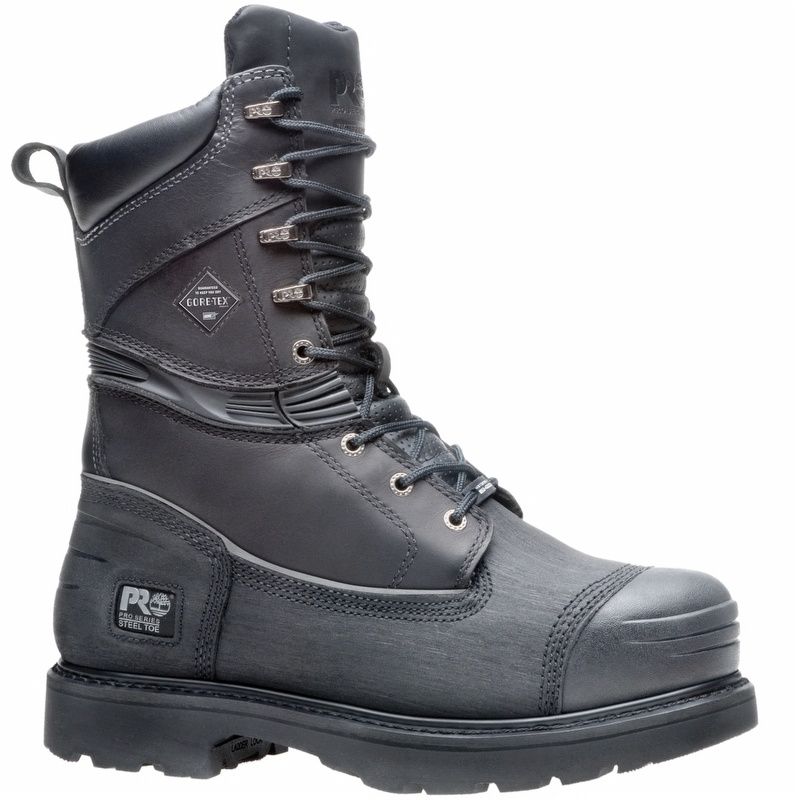 Timberland Pro 53531 10&quot Steel Toe Leather Mining Boot - T53531