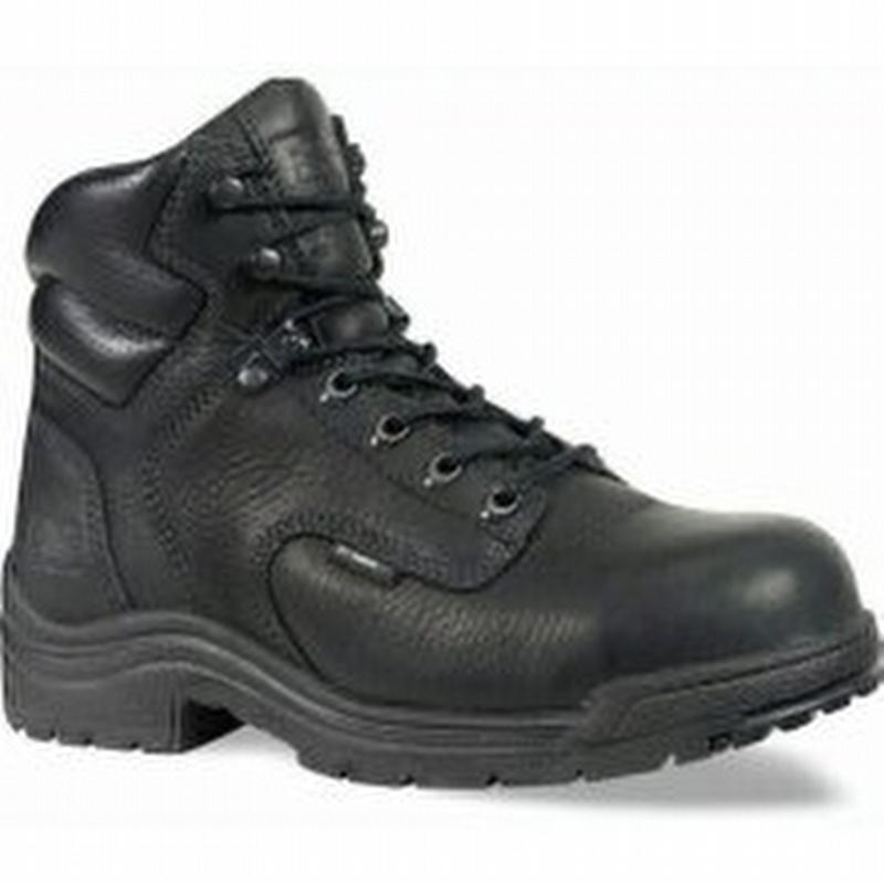 Timberland Pro 72399 Titan Women's Black 6 inch Alloy Toe Boot