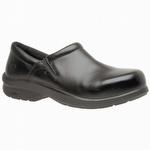 Timberland Pro 87528 Newbury ESD Black Slip-On Women's Alloy Toe Shoe