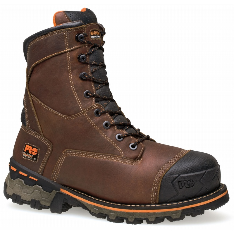 6fe543bc02d Timberland Pro 89628 Boondock 8-inch WP Insulated Composite Toe Boot