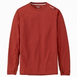 Timberland Pro Wicking Good Long-Sleeve T-Shirt Henna Red