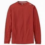 Timberland Pro Wicking Good Long-Sleeve T-Shirt Henna Red