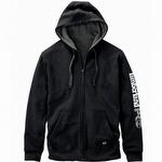 Timberland Pro Hood Honcho Full-Zip Hooded Sweatshirt Jet Black
