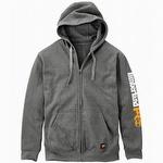 Timberland Pro Hood Honcho Full-Zip Hooded Sweatshirt Charcoal Heather