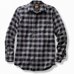 Timberland Pro R-Value Flannel Work Shirt Grey Plaid