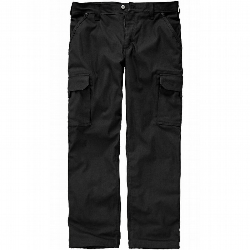 faa7c1d82af Timberland Pro Gridflex Lined Canvas Utility Pant Jet Black - TBOA11AE015